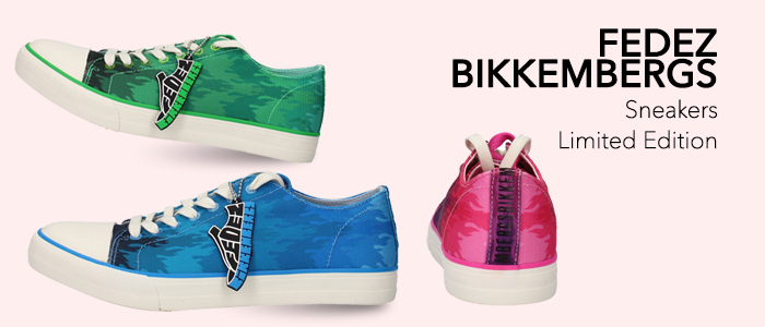 Fedez Bikkembergs: sneakers Limited Edition