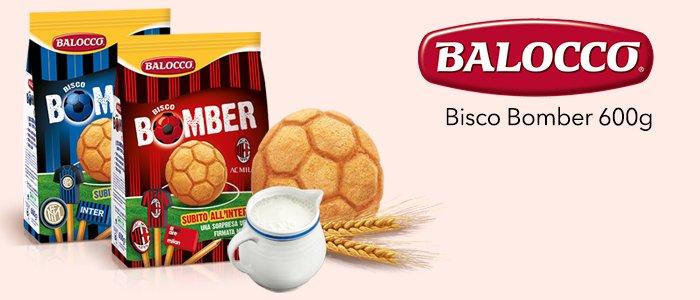 Balocco: Bisco Bomber Inter e Milan 600g