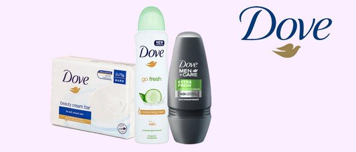 Dove: Saponetta e Deodoranti Spray, Roll-On e Vapo
