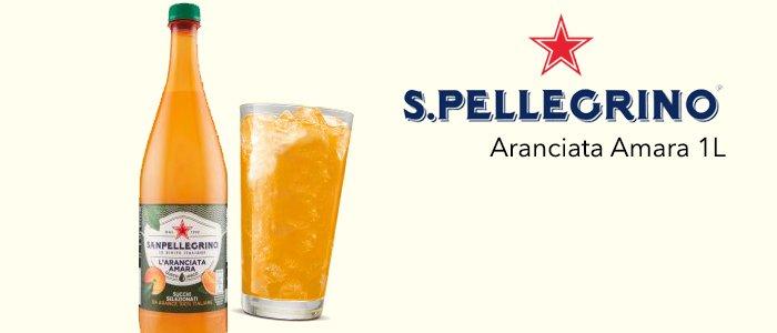 Promo Aranciata Amara San Pellegrino 1 litro