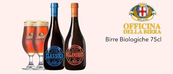 Officina della Birra BIO: Classica e Ambrata
