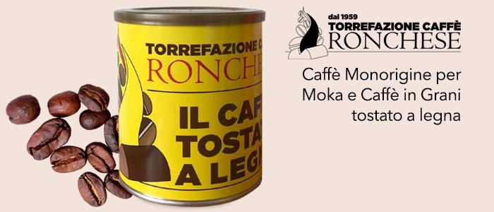 Torrefazione Ronchese: Caffè in grani e macinato Tostato a Legna