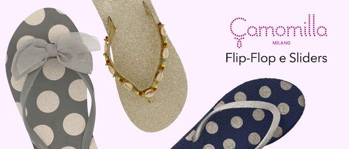 Camomilla: Ciabatte e Flip Flop