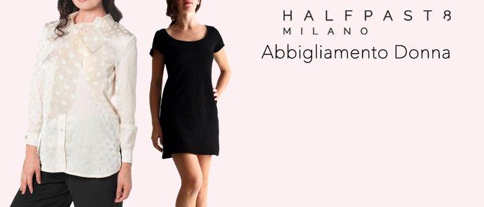 PROMO HALFPAST8 Abbigliamento Donna