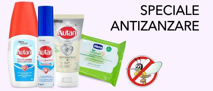 Speciale Antizanzare: Autan, Vape, Sanigel e Chicco
