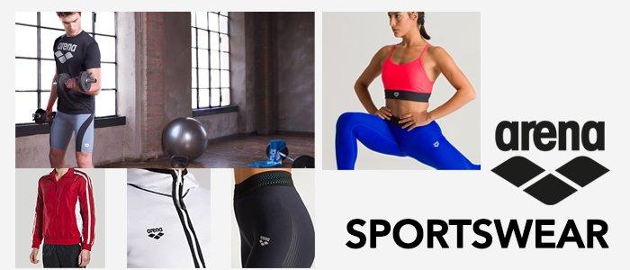 Arena Sportswear: abbigliamento uomo e donna