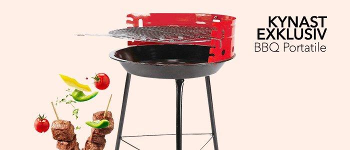 PROMO Barbecue Portatile Kynast Exklusiv
