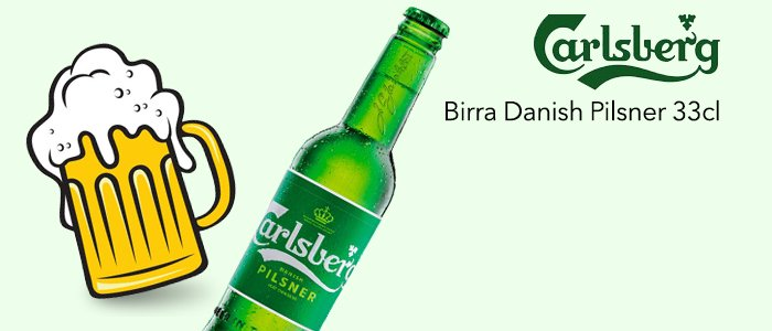 PROMO Carlsberg Birra Danish Pilsner 33cl