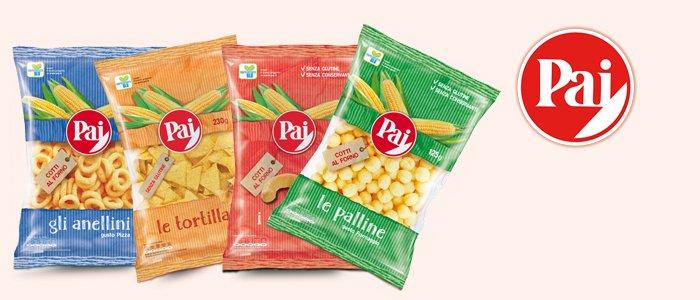 Pai Snack Salati: Patatine, Pop Corn e Tortillas