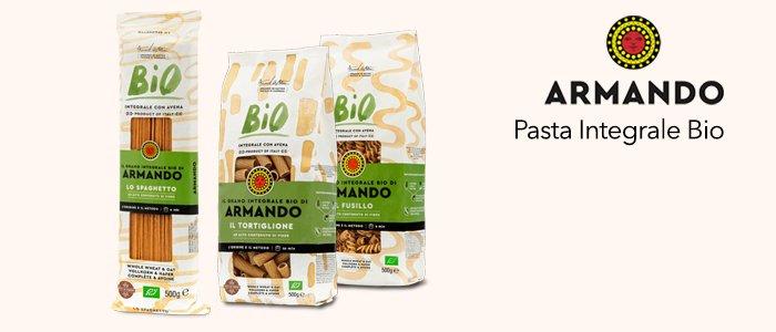 Pasta Armando Grano Integrale Biologico