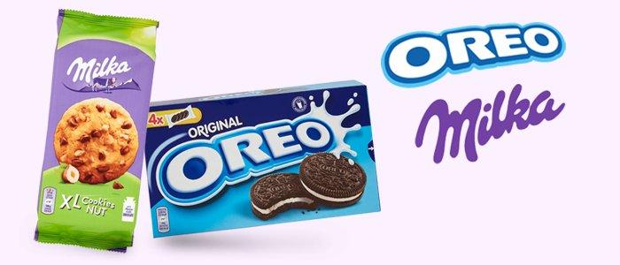 Milka e Oreo: Snack al Cioccolato