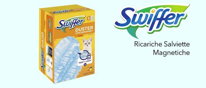 Swiffer Duster Ricariche Salviette Magnetiche Agrumi